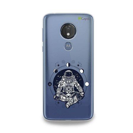 Capa para Moto G7 Power - Astronauta