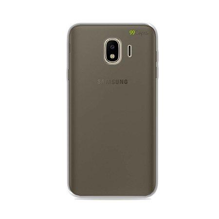 Capa Fumê para Galaxy J4 2018 {Semi-transparente}