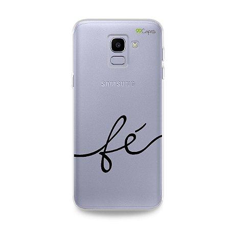 Capa para Galaxy J6 - Fé