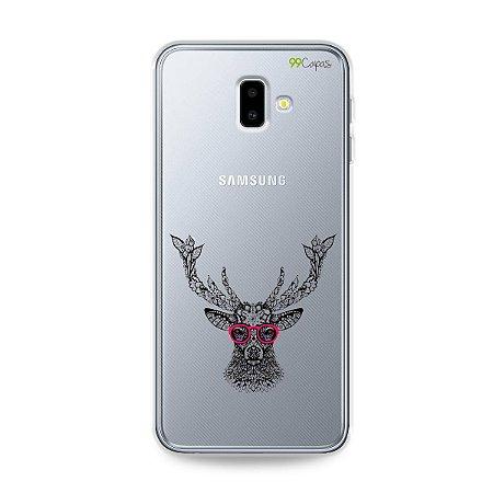 Capa para Galaxy J6 Plus - Alce Hipster