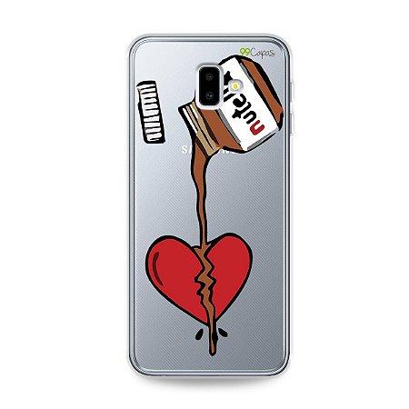 Capa para Galaxy J6 Plus - Nutella