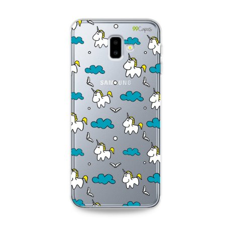 Capa para Galaxy J6 Plus - Unicórnio