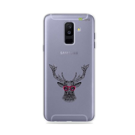 Capa para Galaxy A6 Plus - Alce Hipster