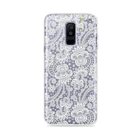 Capa para Galaxy A6 Plus - Rendada