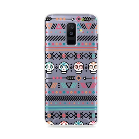 Capa para Galaxy A6 Plus - Tribal