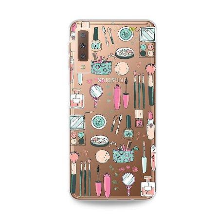 Capa para Galaxy A7 2018 - Make Up