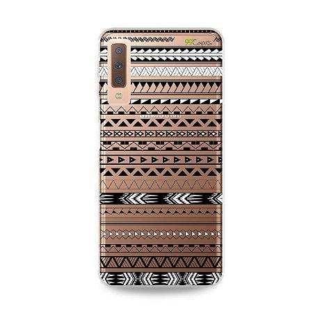 Capa para Galaxy A7 2018 - Maori Branca