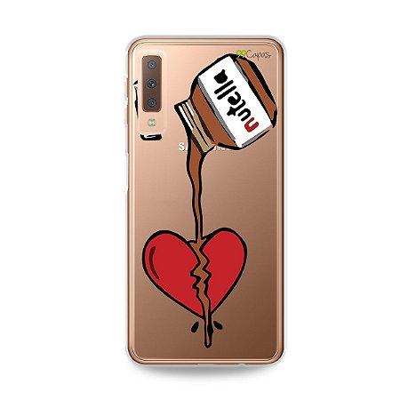 Capa para Galaxy A7 2018 - Nutella