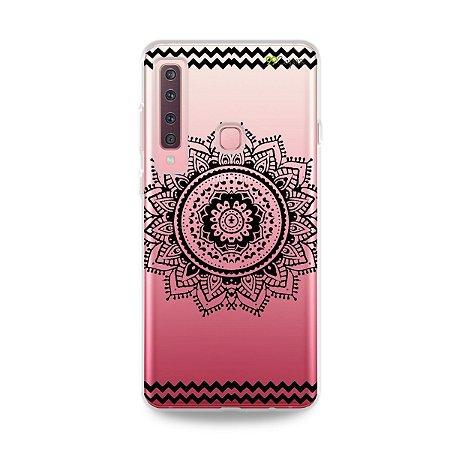 Capa para Galaxy A9 2018 - Mandala Preta