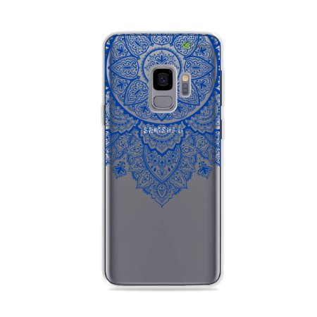 Capa para Galaxy S9 - Mandala Azul