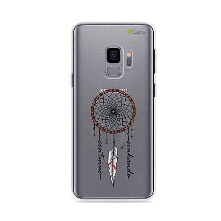 Capa para Galaxy S9 - Continue Sonhando
