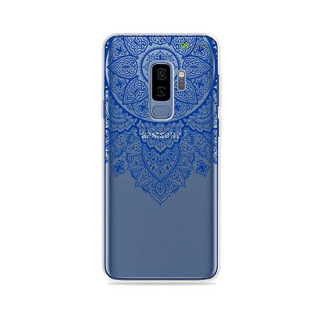 Capa para Galaxy S9 Plus - Mandala Azul