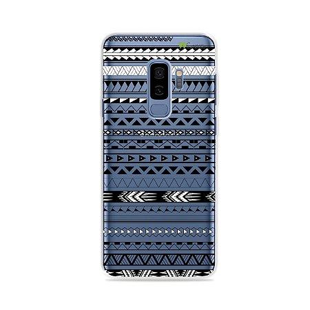 Capa para Galaxy S9 Plus - Maori Branca