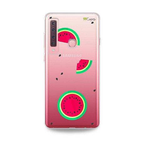 Capa para Galaxy A9 2018 - Melancias
