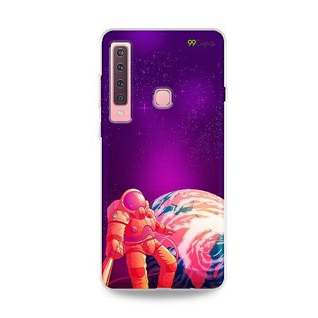 Capa para Galaxy A9 2018 - Selfie Galáctica