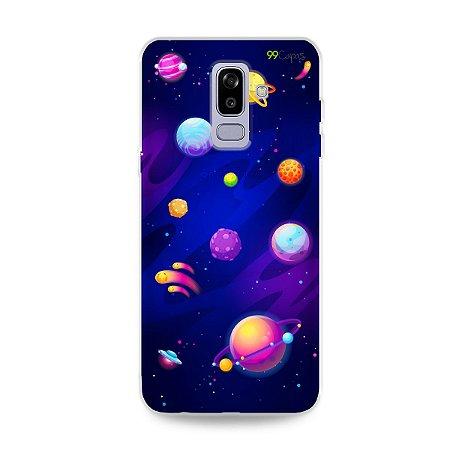 Capa para Galaxy J8 - Galáxia