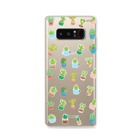 Capa para Galaxy Note 8 - Cactus