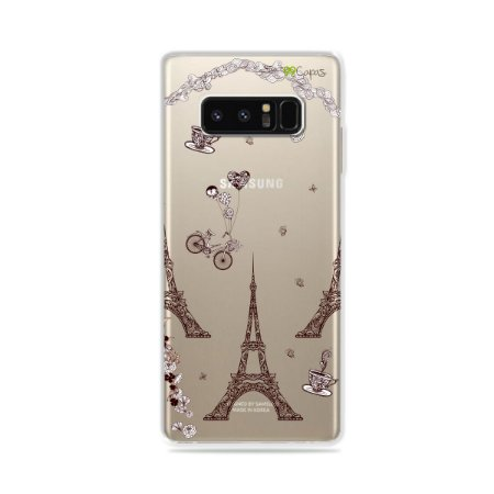Capa para Galaxy Note 8 - Paris