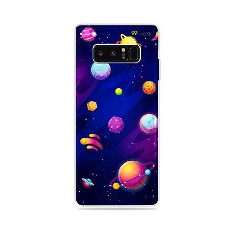 Capa para Galaxy Note 8 - Galáxia