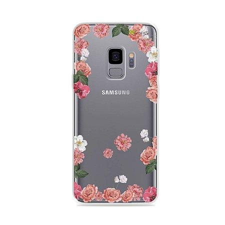 Capa para Galaxy S9 - Pink Roses