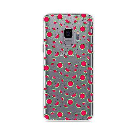 Capa para Galaxy S9 - Mini Melancias