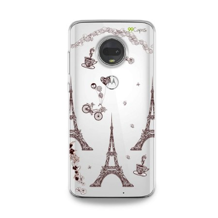 Capa para Moto G7 - Paris