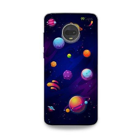 Capa para Moto G7 - Galáxia