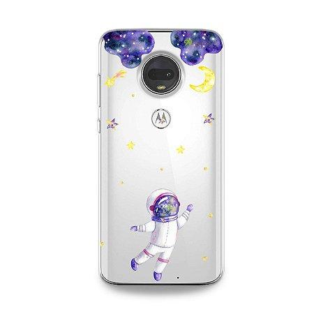 Capa para Moto G7 - Astronauta Sonhador