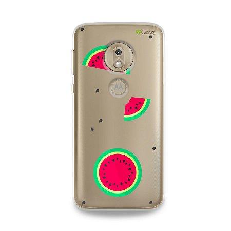 Capa para Moto G7 Play - Melancias