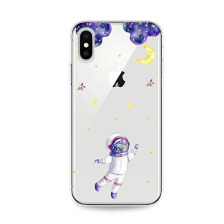 Capa para iPhone X/XS - Astronauta Sonhador