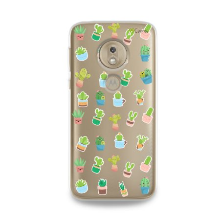 Capa para Moto G7 Play - Cactus