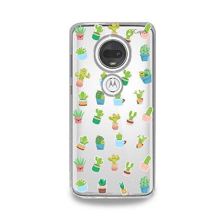 Capa para Moto G7 Plus - Cactus