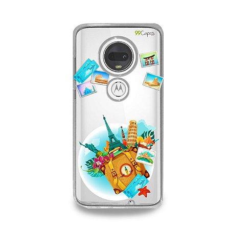 Capa para Moto G7 Plus - Memórias