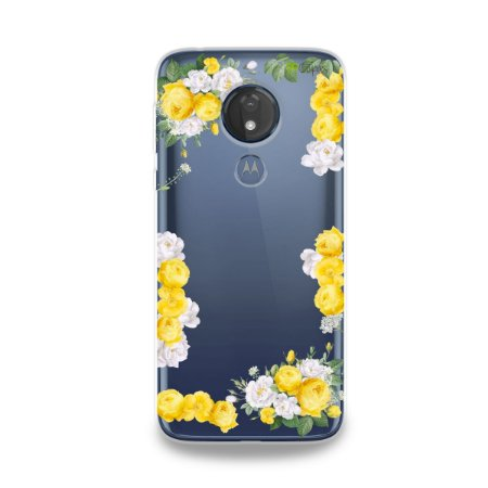 Capa para Moto G7 Power - Yellow Roses