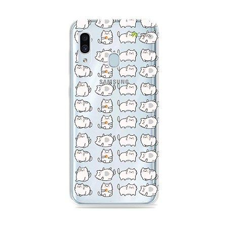 Capa para Galaxy A30 - Lazy Cat
