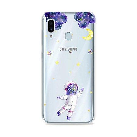 Capa para Galaxy A30 - Astronauta Sonhador
