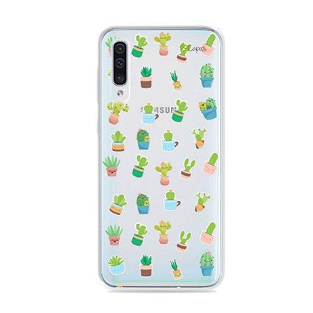 Capa para Galaxy A50 - Cactus