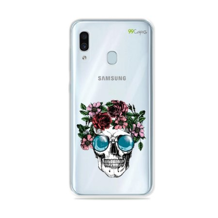 Capa para Galaxy A30 - Caveira