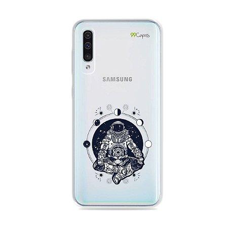 Capa para Galaxy A50 - Astronauta