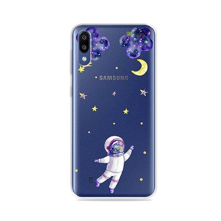 Capa para Galaxy M10 - Astronauta Sonhador