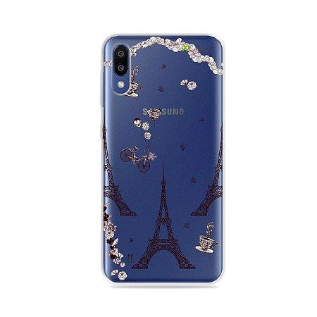 Capa para Galaxy M20 - Paris