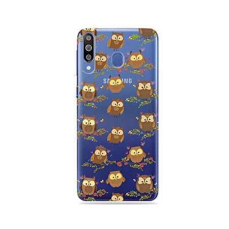Capa para Galaxy M30 - Corujinhas