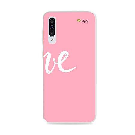 Capa para Galaxy A50 - Love 2