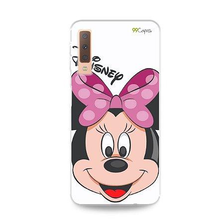 Capa para Galaxy A7 2018 - Minnie