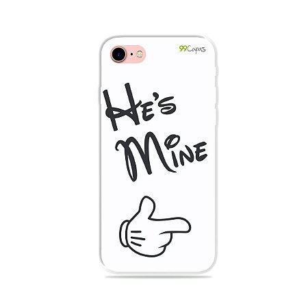 Capa para iPhone 8 - He's Mine