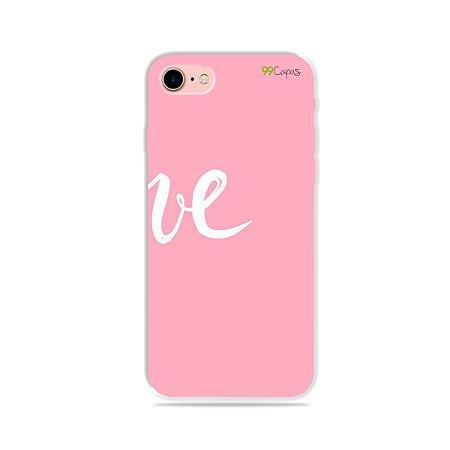 Capa para iPhone 8 Plus - Love 2