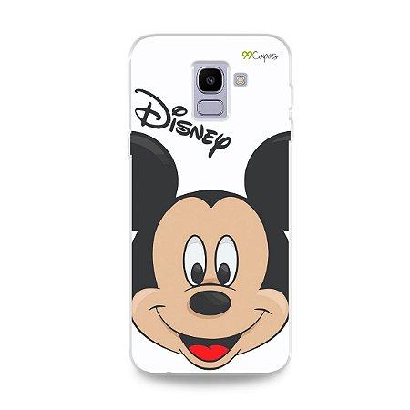 Capa para Galaxy J6 - Mickey