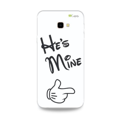 Capa para Galaxy J4 Plus - He's Mine