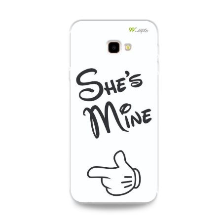 Capa para Galaxy J4 Plus - She's Mine
