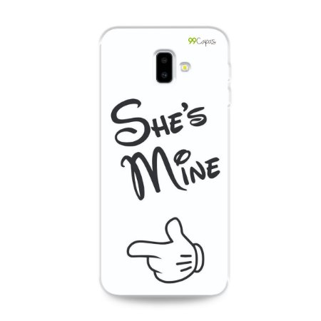 Capa para Galaxy J6 Plus - She's Mine